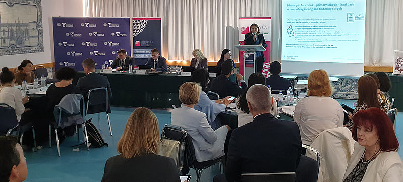 Presentation of the Court of Audit at the EUROSAI TFMA seminar