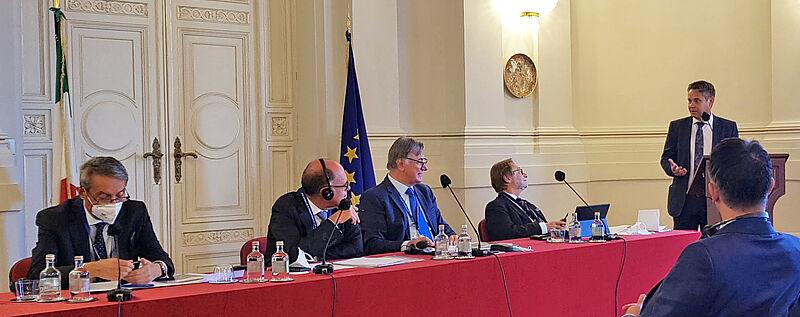 Srečanja se je udeležil tudi predsednik računskega sodišča Tomaž Vesel
