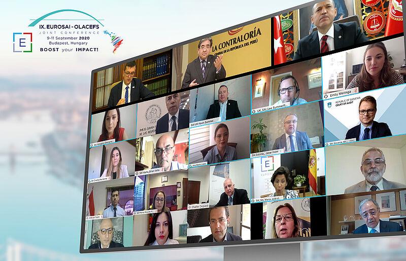 Na spletni konferenci so sodelovali predstavniki številnih evropskih in latinskoameriških VRI