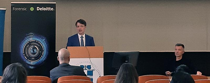 Predstavitev ugotovitev, ki izhajajo iz opravljenih revizij računskega sodišča na področju zdravstva (Foto: Deloitte Slovenija)