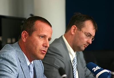 Z leve: g. Šoltes in mag. Petrovič